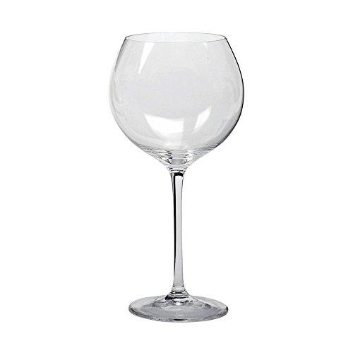 Leonardo Cheers Rotwein-Gläser, Rotwein-Kelch mit gezogenem Stiel, spülmaschinenfeste Wein-Gläser, 6er Set, groß, 750 ml, 061635