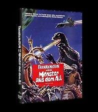 FRANKENSTEIN UND DIE MONSTER AUS DEM ALL - Godzilla, Rodan & Mothra limitierte DVD Hartbox 99 Stk COVER A