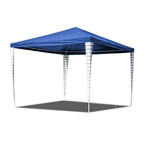 Hengda 3x3m Pavillon Ohne Seitenteile Wasserdicht Stabiles Partyzelt für Garten Markt Camping Hochzeiten Festival