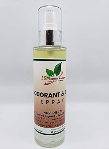 JSM NATURAL SOLUTIONS deodorant spray Super popular specialty store scented with laven sold out organic