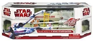 Star Wars Clone Wars The Legacy Collection Exclusive Vehicle X-Wing Fighter with Wedge Antilles and Droid by Star Wars