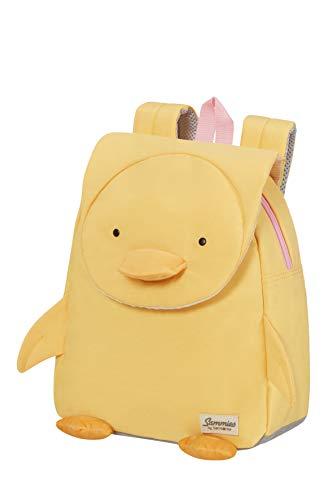 Samsonite Happy Sammies Eco - Kinderrucksack S, 27.5 cm, 7.5 L, Gelb (Duck Dodie)