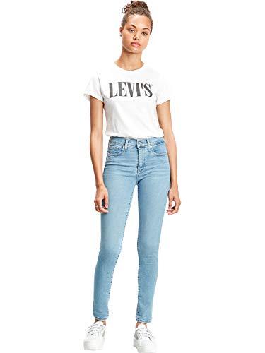 Levis® Damen Jeans Jeanshose 311 Shaping Plus Skinny Fit - Blau - Rio Berlin Summer W25-W34 84% Baumwolle Figurformend, Größe:W 30 L 30, Farbvariante:Rio Berlin Summer (0201)