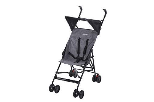 Safety 1St Peps Buggy met Zonnekap, Wendbare Kinderwagen te Gebruiken vanaf 6 Maanden, Weegt Slechts 4,5 Kg, Black Chic.