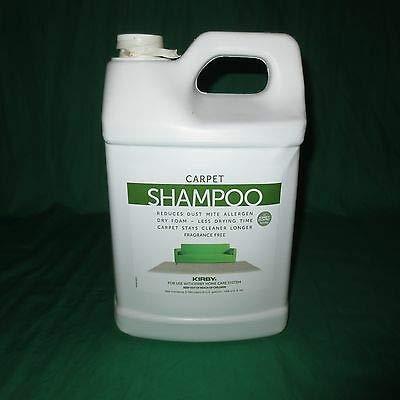 Echtes Kirby 1 Gallon, 128 Unzen allergen Teppich Shampoo Reiniger unparfümiert Trockenschaum