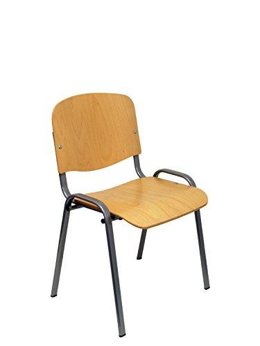 Piqueras y Crespo Pack 4 sillas Golosalvo Sillería, Beige, Estandar
