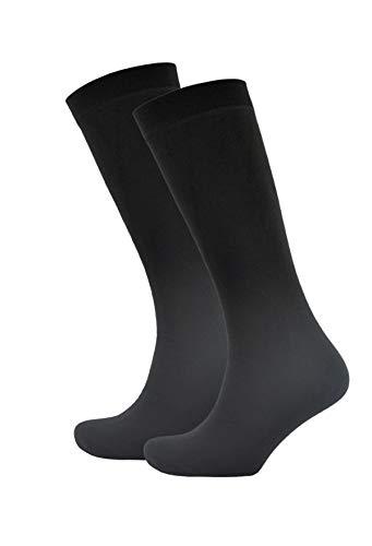 More Mile R2R hauteur genou rembourr/é-Chaussettes de contention-Unisexe-Noir