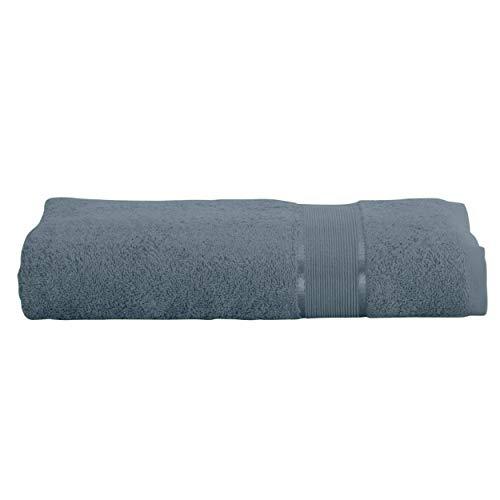 Mixibaby - Toalla de baño (100 x 150 cm, 100% algodón rizado, 500 g/m2, tejido ecológico, 26 colores), gris, 100 x 140 cm