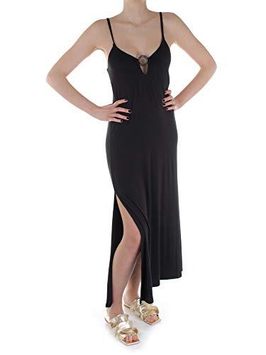 Emporio Armani Swimwear Long Dress Terre De Soleil Vestido, Negro, S para Mujer