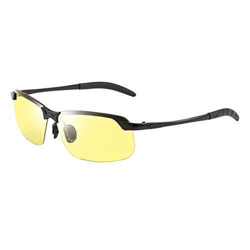 oshhni Gafas de Conducción de HD Gafas de Sol Polarizadas UV400 - La visión nocturna