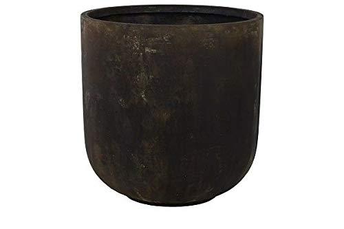Static bloempot | 60 cm hoog | Zwart