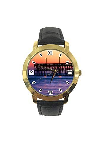 Dim Tianhe Bridge, orologio da polso analogico al quarzo, da uomo, donna