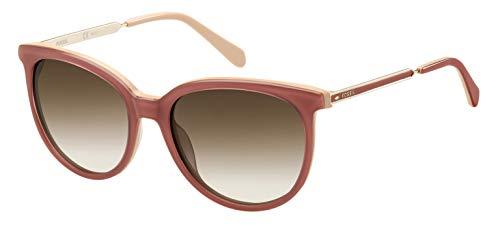 Fossil Damen FOS 3064/S Sonnenbrille, Pink, 55
