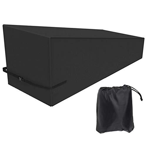 Funda ligera para silla al aire libre Funda para silla de jardín Funda protectora para silla impermeable Funda reclinable 81.9x29.9x31.1in para el hogar