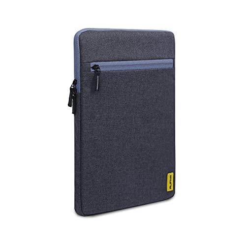 Alifiya Polyester Tablet Sleeve/Laptop Sleeve Bag/Case Cover Upto 11.6 inch for iPad/Samsung Galaxy/Lenovo(Grey_L20)
