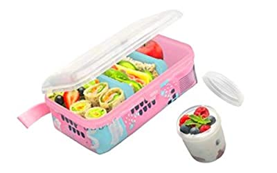 Smash All-In-One Bento Pink Astra Lunch Box