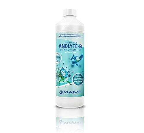 Desinfektionsmittel für Flächen 1 Liter ANOLYTE-B - viruzid bakterizid fungizid - pH neutral und anwendungssicher - DGHM VAH konform nach EN13697 und EN14476