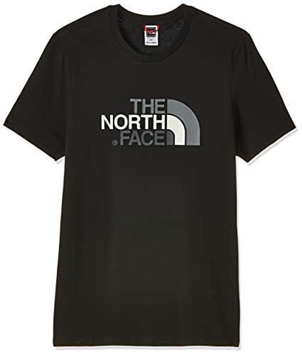 The North Face M S/S Easy, Maglia a Maniche Corte Uomo, Nero (TNF Black), L
