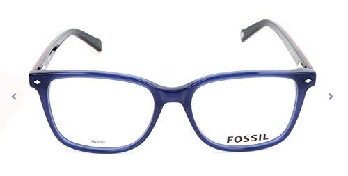 Fossil Brillengestelle FOS 6037 Rechteckig Brillengestelle 53, Mehrfarbig
