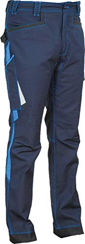 COFRA Arbeitshose Modell Montijo, Kollektion Ergowear, vielen Farben (54, Navy - royal)