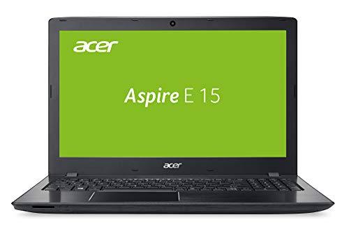 Acer Aspire E 15 (E5-576-76J8) 39,6 cm (15,6 Zoll Full-HD matt) Multimedia Laptop (Intel Core i7-7500U, 8 GB RAM, 256 GB SSD, Intel UHD, Win 10) schwarz