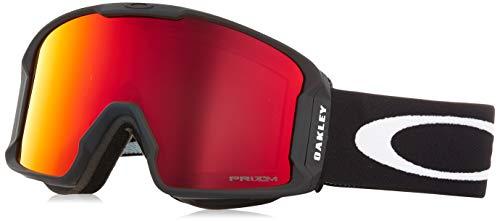 Oakley Herren Lineminer 707002 0 Sportbrille, Schwarz (Matte Black/Prizmtorch), 99