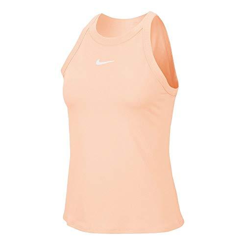Nike - Camiseta de Tirantes para Mujer - AT8983-664, XS, Coral Lavado/Blanco