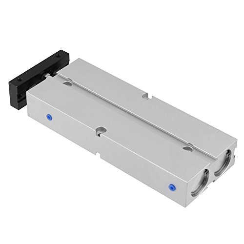1pc Mini Compacto de Aleación de Aluminio Neumática Aire Cilindro, Cuerpo Redondo,...