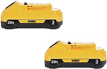 2-Pack Dewalt 20V MAX 3.0-Ah Battery