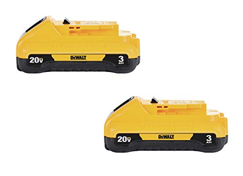 DEWALT 20V MAX Battery Pack, 3.0-Ah, 2-Pack (DCB230-2)
