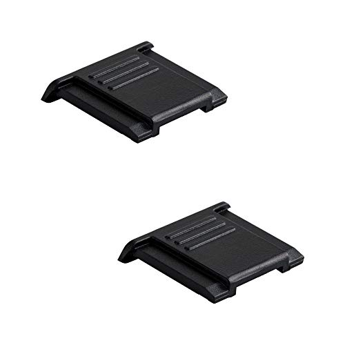 Profoto.Trend/JJC Blitzschuhabdeckung für Nikon, Panasonic, Olympus etc. SLR & Mirrorless Kameras mit Standard ISO Hot Schuh (2 Stück pro Pack)