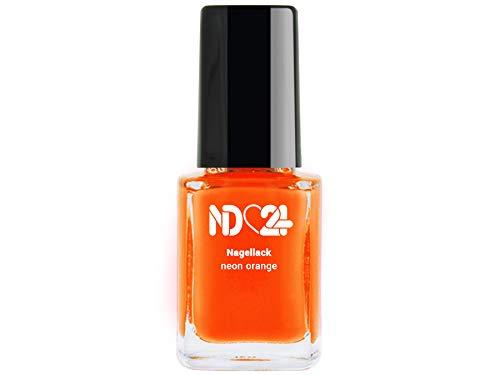Nagellack Neon Orange