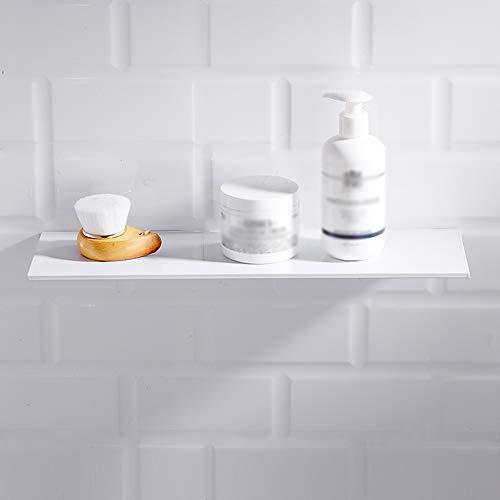 Geperforeerde gratis badkamer partitie wit plank badkamer opslag rack ruimte aluminium spiegel voorzijde dressoir muur opknoping