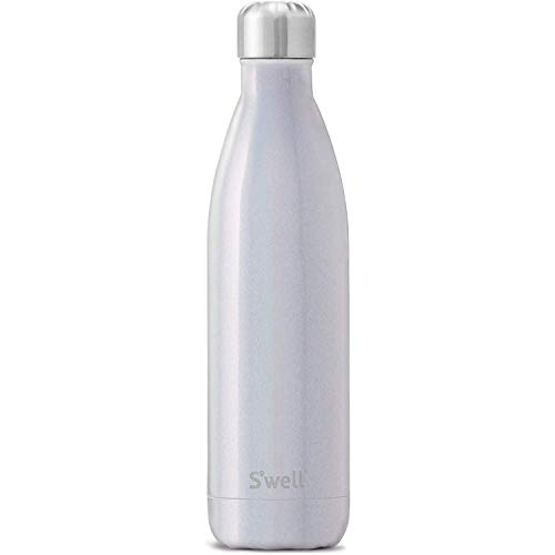 S'well Stainless Steel Water Bottle - 25 Fl Oz - Milky Way - Triple-Layered Vacuum-Insulated Containers Keeps Drinks Cold for 48 Hours and Hot for 24 - BPA-Free - Perfect for the Go
