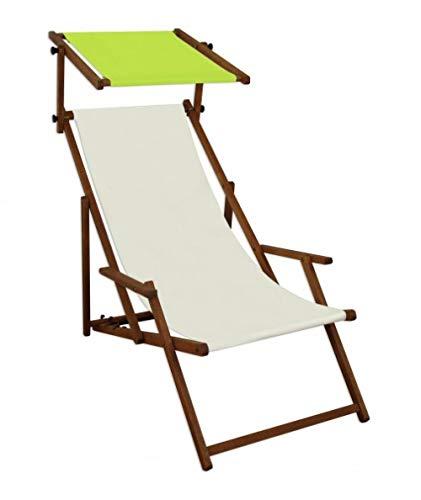 ALL-JingHong Sonnenliege verstellbar Klappbare Wellnessliege erhältlich Weiß 1 JH-642