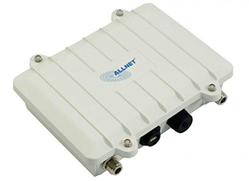 ALLNET Netzwerkgeräte 100Mbit/s Weiß - Bridges & Repeater (100 Mbit/s, 10/100, N-Type, 2.4-5, IEEE 802.11a,IEEE 802.11g, Verkabelt)