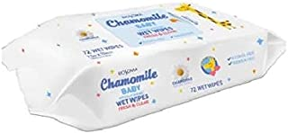 Biosoma Baby Hypoallergenic Wet Wipes with Chamomile Natural Extract,  72 Count