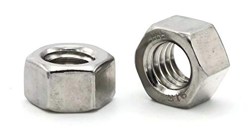 Hex Finish Nuts 316 Stainless New sales Steel Detroit Mall - Flats 1 x 16