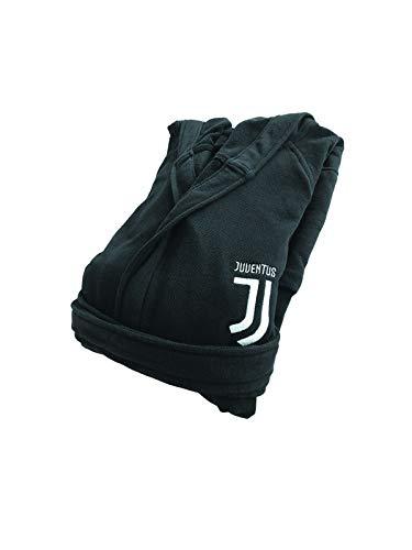 Juventus FC Accappatoio Premium Junior Bambino e Neonato, Nero, 8-10 Anni
