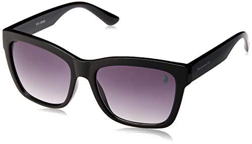 Óculos de Sol Polo London Club lente com Proteção UVA/UVB - Kit acompanha com estojo e flanela, Justin clássico Preto