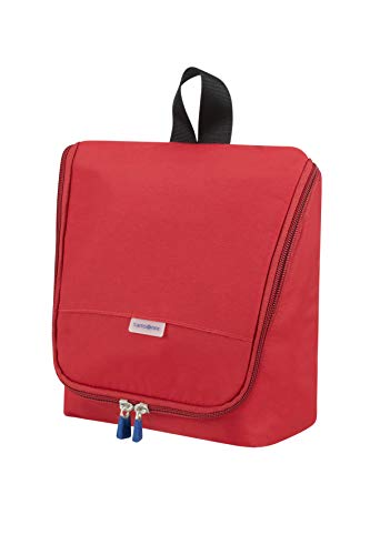 Samsonite Global Travel Accessories Hanging Beauty Case 22 centimeters 1 Rosso (Red)