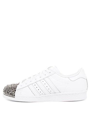 Adidas Superstar 80s Metal Toe TF W, ftwr white/ftwr white/core black, 7