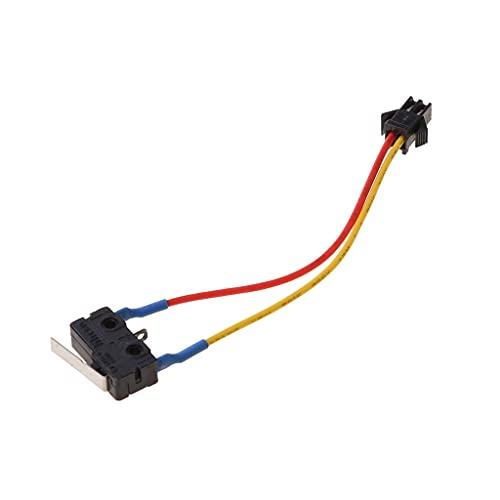 ERUYN Microinterruptor para Calentador de Agua a Gas Control de Encendido y Apagado pequeño de Dos/Tres Cables