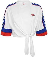222 Banda Burnia Camiseta Mujer Blanco