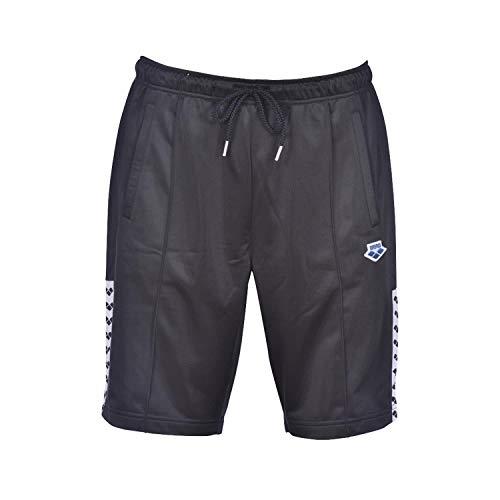 ARENA Team Shorts, Black-White-Black, M