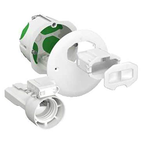 boite cloison sèche - schneider multifix air - applique - dcl + douille e27