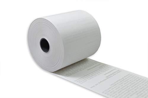 50 Stck. EC Thermorollen mit SEPA-Lastschrifttext 57mm x 18m x 12mm [ØRolle 39mm] phenolfrei Drucker schonend 55g/m²