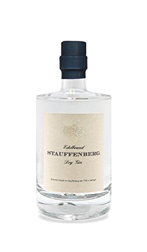 Stauffenberg Dry Gin | 50cl | 47% Vol. | Brennerei Schenk von Stauffenberg | auf einer von Hand befeuerten Brennereianlage destilliert