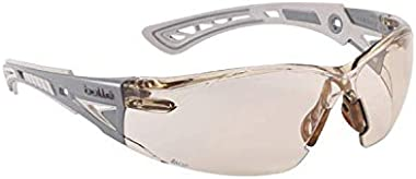 Eyewear Safety CSP PC Anti Scratch   Anti Fog Platinum Grey & Silver