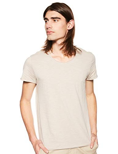 JACK & JONES Herren T-Shirts jjeBas beige L